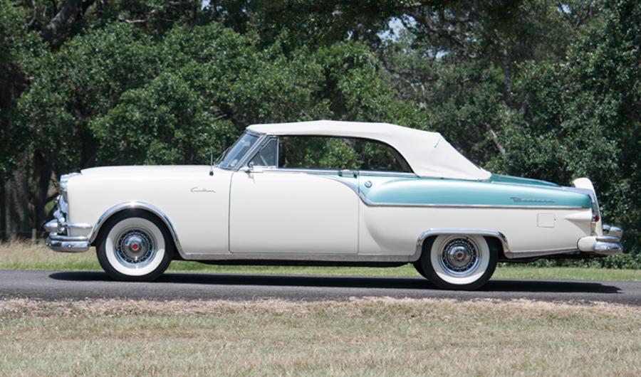 2 Door Convertible >> Charlie Thomas Collection - 1954 Packard Caribbean Convertible 2 Door