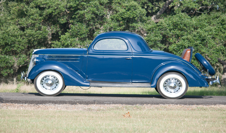 Charlie thomas collection 1936 ford coupe 3 window for 1936 3 window coupe